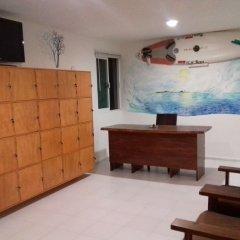 Отель Hostel Punta Sam Мексика, Плайя-Мухерес - отзывы, цены и фото номеров - забронировать отель Hostel Punta Sam онлайн комната для гостей