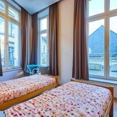 Отель Jacques Brel Youth Hostel Бельгия, Брюссель - отзывы, цены и фото номеров - забронировать отель Jacques Brel Youth Hostel онлайн комната для гостей фото 2