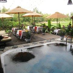 Отель Thien Thanh Boutique Хойан бассейн фото 2