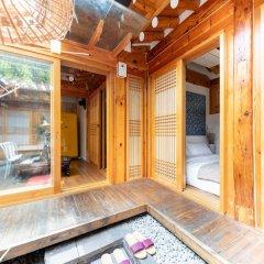 Отель Open Real Luxury Korean Hanok Южная Корея, Сеул - отзывы, цены и фото номеров - забронировать отель Open Real Luxury Korean Hanok онлайн сауна