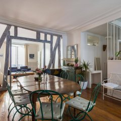 Отель onefinestay - Montmartre-South Pigalle private homes питание