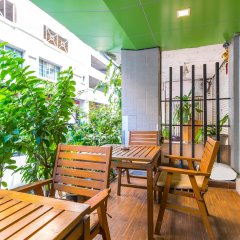 Отель Darjelling Boutique Бангкок балкон
