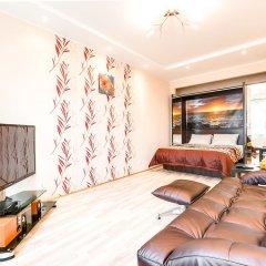 Апартаменты Design Apartment Budapeshtskaya 7 Санкт-Петербург комната для гостей фото 2