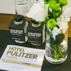 Hotel Pulitzer Paris в номере фото 2
