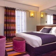 Отель Ampère Франция, Париж - отзывы, цены и фото номеров - забронировать отель Ampère онлайн комната для гостей фото 2