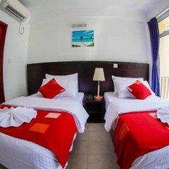 Отель Transit Beach View Hotel Мальдивы, Мале - отзывы, цены и фото номеров - забронировать отель Transit Beach View Hotel онлайн комната для гостей фото 5