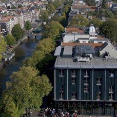 Отель Citadines Sloterdijk Station Amsterdam Нидерланды, Амстердам - отзывы, цены и фото номеров - забронировать отель Citadines Sloterdijk Station Amsterdam онлайн вид на фасад