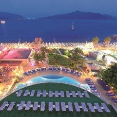 Orka Nergis Beach Hotel Турция, Мармарис - отзывы, цены и фото номеров - забронировать отель Orka Nergis Beach Hotel онлайн бассейн фото 2