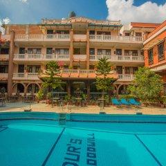 Отель Goodwill Непал, Лалитпур - отзывы, цены и фото номеров - забронировать отель Goodwill онлайн бассейн фото 2