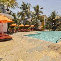 Отель Kyriad Prestige Calangute Goa Индия, Гоа - отзывы, цены и фото номеров - забронировать отель Kyriad Prestige Calangute Goa онлайн бассейн фото 2