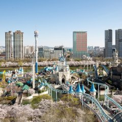 Отель Lotte World Сеул пляж