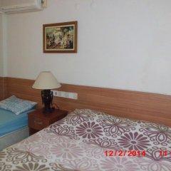 Отель Mavi Cennet Camping Pansiyon Сиде комната для гостей