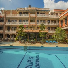 Отель OYO 235 Hotel Goodwill Непал, Лалитпур - отзывы, цены и фото номеров - забронировать отель OYO 235 Hotel Goodwill онлайн бассейн фото 3