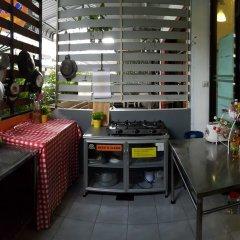 De Talak Hostel Бангкок питание