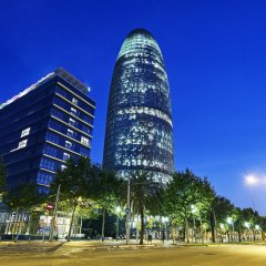 Отель Bbarcelona Sant Jordi Flat Барселона вид на фасад