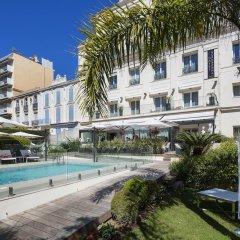 Отель Hôtel Le Canberra - Hôtels Ocre et Azur бассейн фото 3