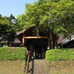 Отель Log Sanso Hinotori Минамиогуни приотельная территория