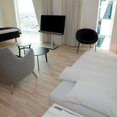 AC Hotel by Marriott Bella Sky Copenhagen 4* Стандартный номер с различными типами кроватей фото 6