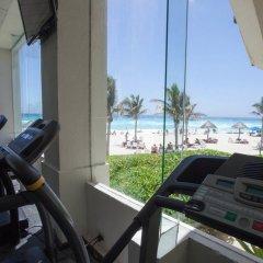 Отель Grand Oasis Cancun - Все включено Мексика, Канкун - 8 отзывов об отеле, цены и фото номеров - забронировать отель Grand Oasis Cancun - Все включено онлайн фитнесс-зал фото 3