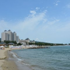 Отель Milennia Family Hotel Болгария, Солнечный берег - отзывы, цены и фото номеров - забронировать отель Milennia Family Hotel онлайн пляж фото 2