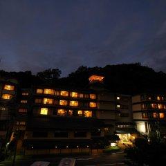 Отель Misasa Yakushinoyu Mansuirou Мисаса вид на фасад