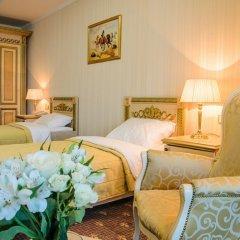 Гостиница SK Royal Москва 4* Стандартный номер с 2 отдельными кроватями фото 3