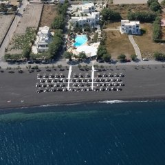 Отель Atlantis Beach Villa Греция, Остров Санторини - отзывы, цены и фото номеров - забронировать отель Atlantis Beach Villa онлайн пляж
