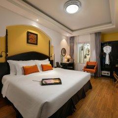 Noble Boutique Hotel Hanoi комната для гостей