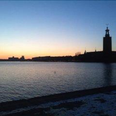 Отель Hotell Den Gyllene Geten Стокгольм приотельная территория