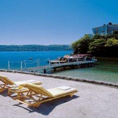Отель Grand Hotel Majestic Италия, Вербания - 1 отзыв об отеле, цены и фото номеров - забронировать отель Grand Hotel Majestic онлайн пляж фото 2