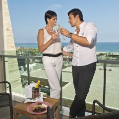 Отель Crystal Waterworld Resort And Spa Богазкент балкон