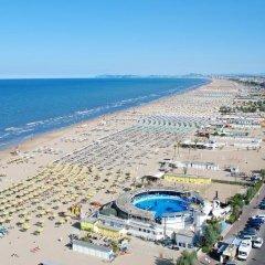 Hotel Prestige Римини пляж