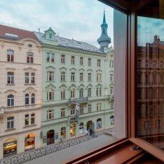 Отель Vinohradsky Dum Прага балкон