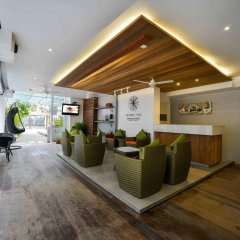 Отель Coconut Tree Hulhuvilla Beach Мале интерьер отеля