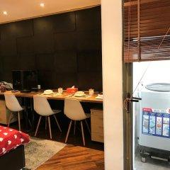 Апартаменты Henry Apartment Luxury Studio питание