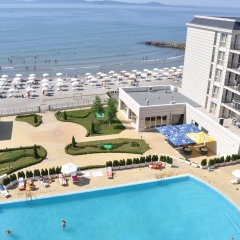 Отель Festa Pomorie Resort Болгария, Поморие - 1 отзыв об отеле, цены и фото номеров - забронировать отель Festa Pomorie Resort онлайн пляж