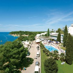 Hotel Zorna Plava Laguna пляж