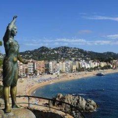 Отель 106174 - Apartment in Lloret de Mar Испания, Льорет-де-Мар - отзывы, цены и фото номеров - забронировать отель 106174 - Apartment in Lloret de Mar онлайн пляж фото 2
