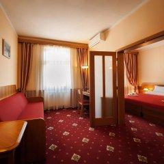 Hotel Askania Прага комната для гостей фото 3