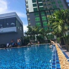 Отель Dusit Grand Condo View Pattaya Паттайя бассейн фото 2