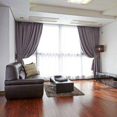 Отель Brown Suites Seoul Южная Корея, Сеул - 1 отзыв об отеле, цены и фото номеров - забронировать отель Brown Suites Seoul онлайн комната для гостей фото 5