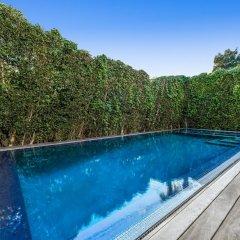 Отель Villa Mode США, Лос-Анджелес - отзывы, цены и фото номеров - забронировать отель Villa Mode онлайн бассейн фото 2