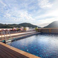 Отель Paripas Patong Resort бассейн фото 3