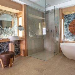 Отель Bora Bora Pearl Beach Resort and Spa Французская Полинезия, Бора-Бора - отзывы, цены и фото номеров - забронировать отель Bora Bora Pearl Beach Resort and Spa онлайн ванная фото 2