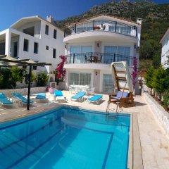 Villa MNM Турция, Калкан - отзывы, цены и фото номеров - забронировать отель Villa MNM онлайн бассейн фото 2