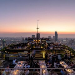 Отель Banyan Tree Bangkok Бангкок приотельная территория