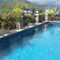 Отель MM Hill Hotel Таиланд, Самуи - отзывы, цены и фото номеров - забронировать отель MM Hill Hotel онлайн бассейн фото 2