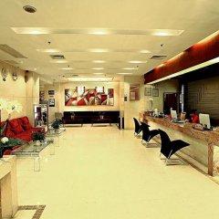 Paco Hotel Guangzhou Gangding Metro Branch интерьер отеля фото 2