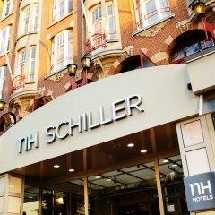Отель Nh Amsterdam Schiller Амстердам городской автобус