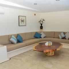 Отель El Secreto Мексика, Коакоюл - отзывы, цены и фото номеров - забронировать отель El Secreto онлайн комната для гостей фото 3